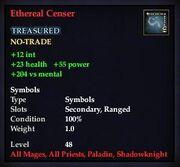 Ethereal Censer