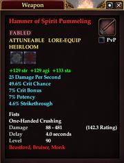 Hammer of Spirit Pummeling