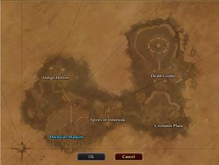 Neriak Teleport Pad Map