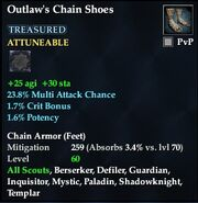 Outlaw's Chain Shoes