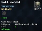 Dark Evoker's Hat