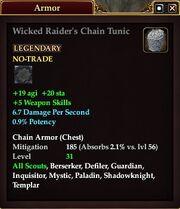 Wicked Raider's Chain Tunic