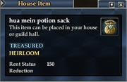 Hua mein potion sack