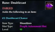 Rune- Doublecast