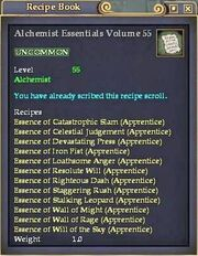 Alchemist Essentials Volume 55
