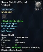 Round Shield of Eternal Twilight