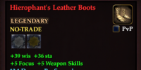 Hierophant's Leather Boots