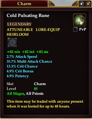 Cold Pulsating Rune