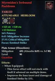 Myrmidon's Irebound Pauldrons