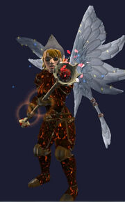 Staff of Burning Love Equipped