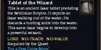 Tablet of the Wizard