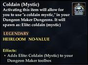 Coldain (Mystic)