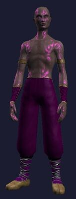 Gi of the Dark Disciple (Visible, Male)