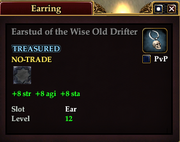 Earstud of the Wise Old Drifter