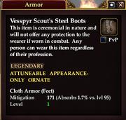Vesspyr Scout's Steel Boots