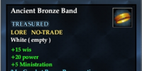 Ancient Bronze Band