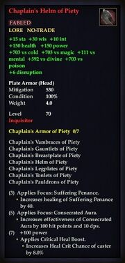 Chaplain's Helm of Piety