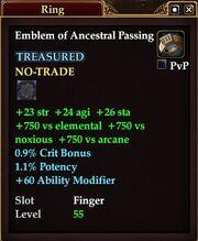 Emblem of Ancestral Passing