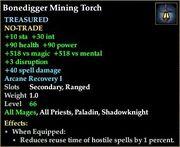 Bonedigger Mining Torch
