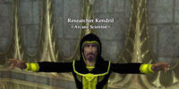 Researcher Kendril