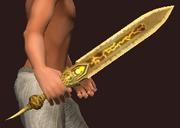 Sandstorm (Sword) (Equipped)