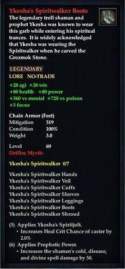 Ykesha's Spiritwalker Boots