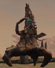 A petrified roper