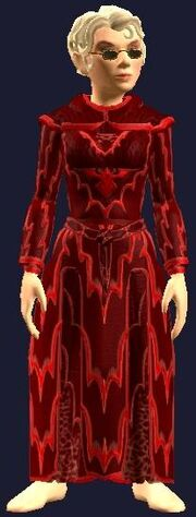 Festive Red Robe (Equipped)
