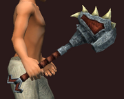 Razor-Tipped Axe Blade (Equipped)