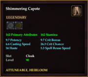 Shimmering Capote