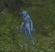 A mist grinnin savage (Nektulos Forest)