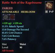 Battle Belt of the Ragebourne