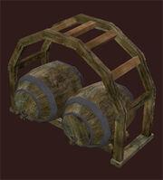 Trelised-double-keg-stand