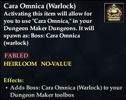 Cara Omnica (Warlock)