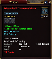 Discarded Mistmoore Mace