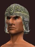 Disciple's Blackened Iron Skullcap (Equipped)
