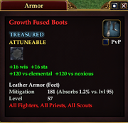 Growth Fused Boots