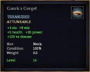 Gaurk's Gorget
