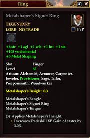Metalshaper's Signet Ring