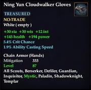 Ning Yun Cloudwalker Gloves