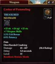 Cestus of Pummeling
