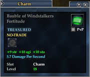 Bauble of Windstalkers Fortitude