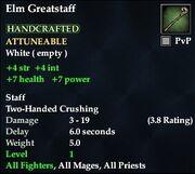 Elm Greatstaff