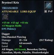 Feysteel Kris (dropped)