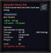 Splendid Ghoul Fist