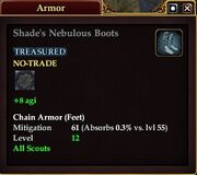 Shade's Nebulous Boots