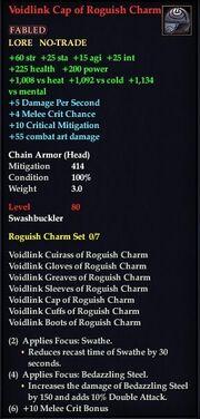 Voidlink Cap of Roguish Charm