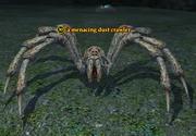 A menacing dust crawler