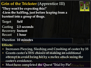 Grin of the Trickster