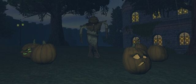 File:Scarecrow and Jack-o-Lanterns.jpg